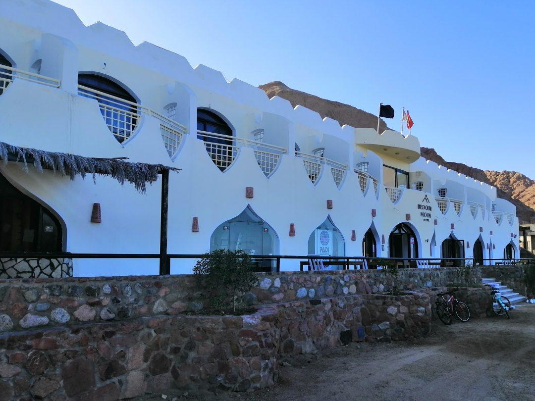 Bedouin Moon Hotel front