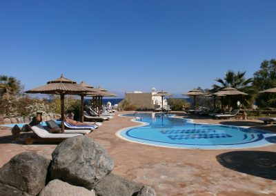 Bedouin Moon Hotel Pool - Sea View