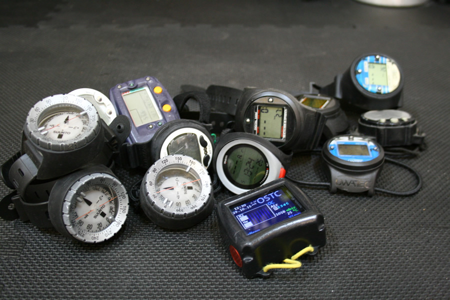 equipment – dive computer