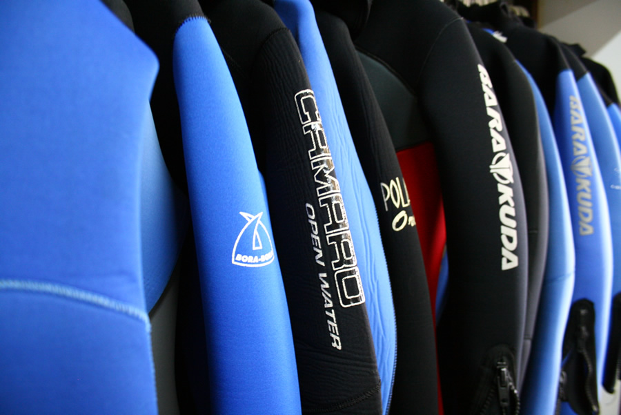 equipment – wetsuits