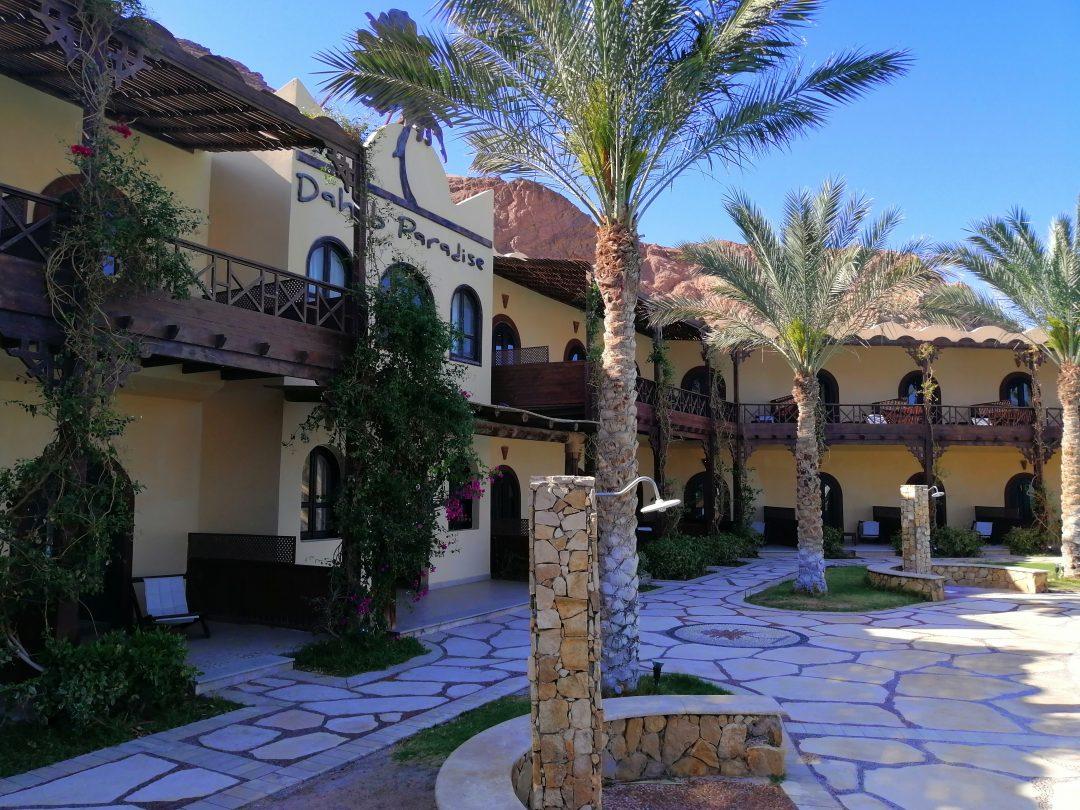 Dahab Paradise Hotel – front