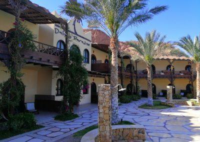 Dahab Paradise Hotel - Entrance