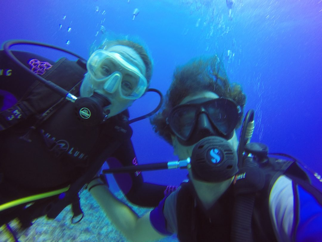 padi courses – Laura & Floh diving