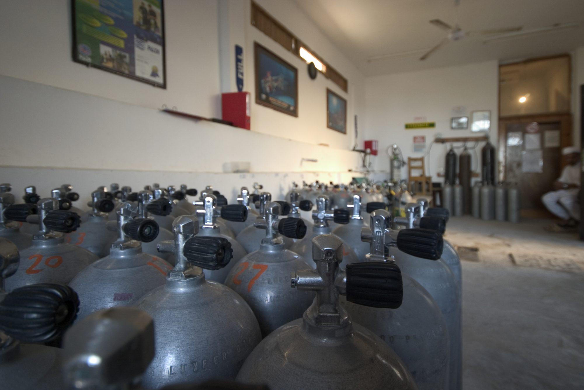 equipment – compressor rooms