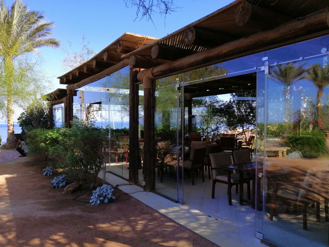 accomodation Dahab Paradise Restaurant outside shot