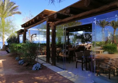 Dahab Paradise Hotel - Restaurant outside